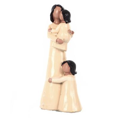 Diğer - Mutlu Aile Dekoratif Biblo 20cm