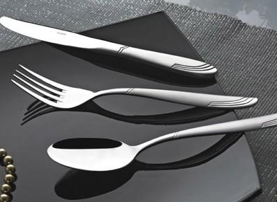 Nehir - Nehir Lizbon Saten 12li Yemek Bıçağı