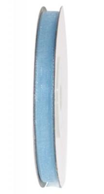 Diğer - Organze Bebek Mavisi Kurdele 10mm.