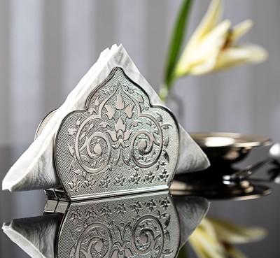 Diğer - Osmanlı Motifli Gümüş Kağıt Peçetelik
