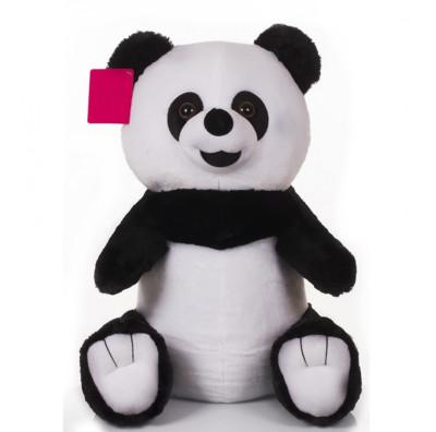 Diğer - Oturan Sevimli Peluş Panda 50cm