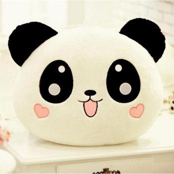 Panda Tasarımlı Sevimli Peluş Yastık 30cm