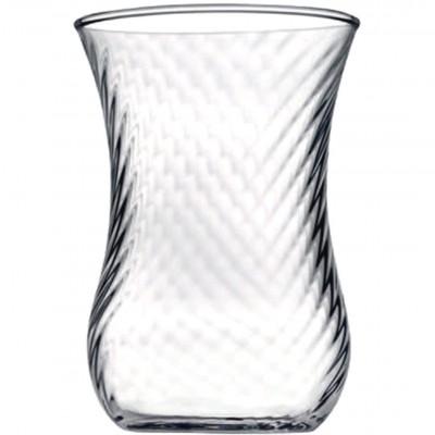 Paşabahçe - Paşabahçe 6lı Optikli Çay Bardağı