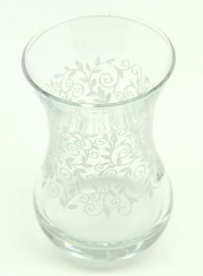 Paşabahçe - Paşabahçe İnce Belli Baskılı 6 lı Çay Bardağı