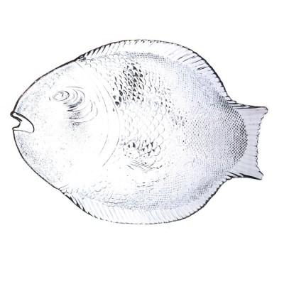 Paşabahçe - Paşabahçe Marine Balık Şeklinde Servis Tabağı 35cm