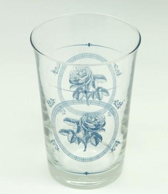 Paşabahçe - Paşabahçe Troy 6lı Mavi Gül Baskılı Su Bardağı