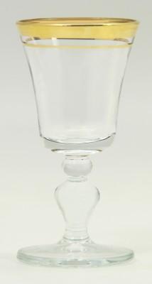 Paşabahçe - Paşabahçe Victoria 6lı Ayaklı Likör Bardağı Altın Yaldızlı