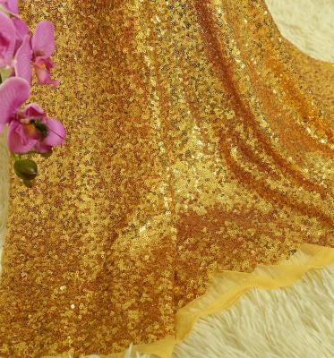 Diğer - Payet Kumaş Parti Masa Örtüsü 1 Metre Gold