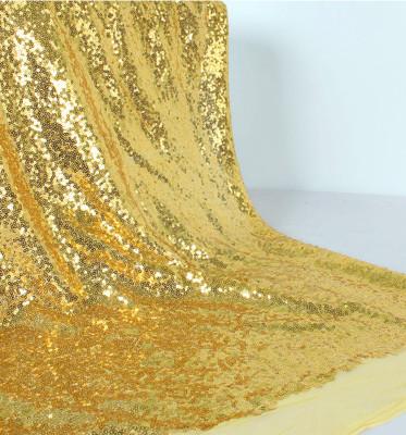 Payet Kumaş Parti Masa Örtüsü 1 Metre Gold - Thumbnail