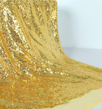 Payet Kumaş Parti Masa Örtüsü 1 Metre Gold