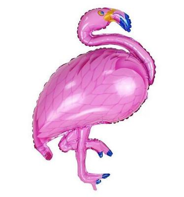 Diğer - Pembe Flamingo Folyo Balon 60x80cm