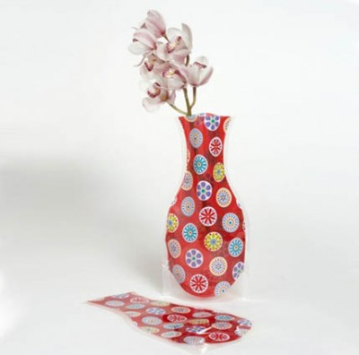 Diğer - Plastik Kırılmaz Katlanabilir Vazo