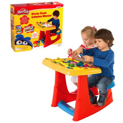 Diğer - Play-Doh Tabureli Aktivite ve Çalışma Masası