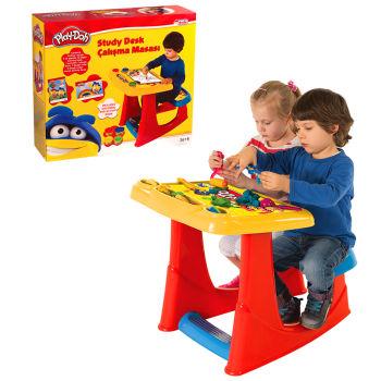 Play-Doh Tabureli Aktivite ve Çalışma Masası