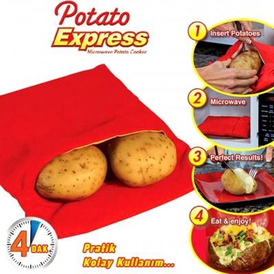 Diğer - Potato Express Patates Pişirme Torbası