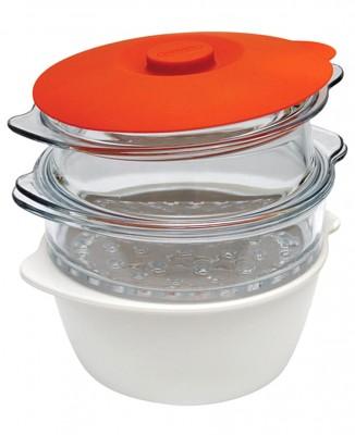 Pyrex - Pyrex Multicook Buharlı Pişirme ve Fonksiyonel Tencere