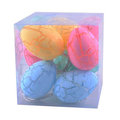 Renkli Yumurtalar 10lu Led Dekor Işığı 1.5 Metre - Thumbnail