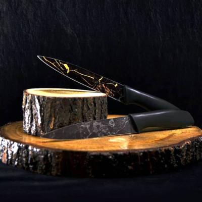 Rooc - Rooc Mermer Desenli Çok Amaçlı Bıçak 22cm