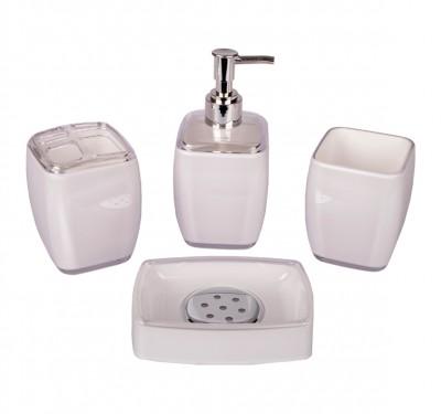 Royal Windsor - Royal Windsor 4 Parça Banyo Seti Beyaz