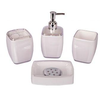Royal Windsor 4 Parça Banyo Seti Beyaz