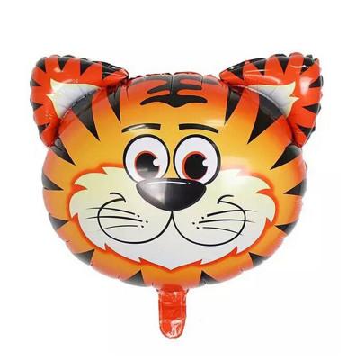 Diğer - Safari Hayvanları Kaplan Folyo Balon 30cm