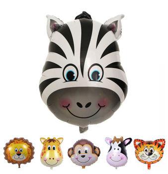 Safari Hayvanları Zebra Folyo Balon 30cm