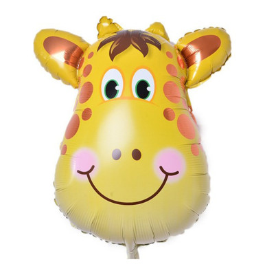 Diğer - Safari Hayvanları Zürafa Folyo Balon 30cm