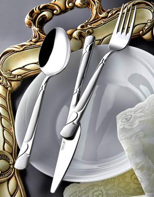 Diğer - Samanyolu Saten 12li Yemek Bıçağı