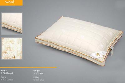 Seral Biyeli Klasik Yün Yastık 50x70cm - Thumbnail