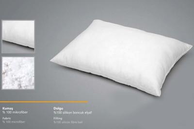 Seral - Seral Silikon Boncuk Elyaf Dolgulu Mikrofiber Yastık 50x70cm