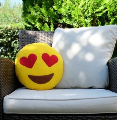 Sevgiliye Özel In Love Aşk Emoji Yastık - Thumbnail