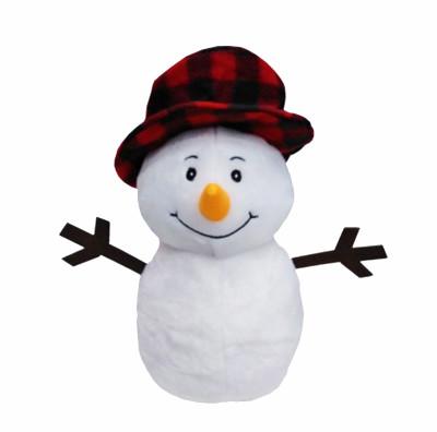 Sevimli Peluş Kardan Adam 25cm - Thumbnail