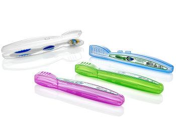 Seyahat İçin Hijyenik Diş Fırçası Taşıma Kutusu Asorti