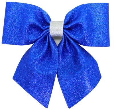 Diğer - Simli Eva Büyük Fiyonk 20cm Mavi