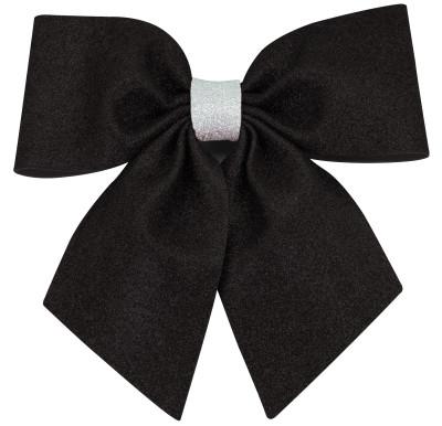 Diğer - Simli Eva Büyük Fiyonk 20cm Siyah