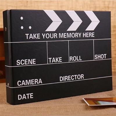Diğer - Sinema Klaketi Şeklinde Siyah Yapraklı Fotoğraf Albümü