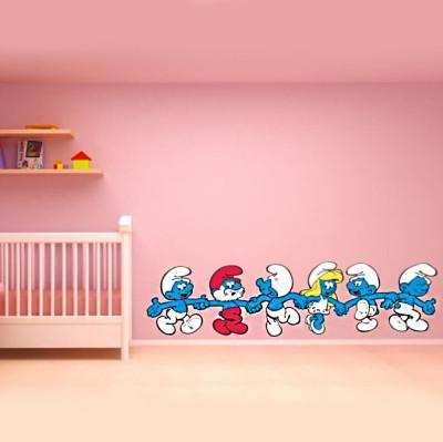Diğer - Şirinler Çocuk Odası Sticker 100cm