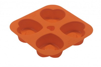 Soft Bowl - Softbowl 4lü Kalpli Silikon Muffin Kalıbı