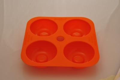 Softbowl 4lü Yuvarlak Silikon Muffin Kalıbı - Thumbnail
