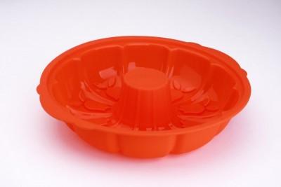 Soft Bowl - Softbowl Lalezar Klasik Silikon Borulu Kek Kalıbı (XL) 31cm.
