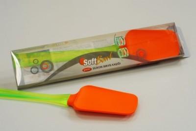 Soft Bowl - Softbowl Silikon Yapışmaz Servis Kaşığı