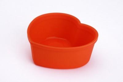 Softbowl Tekli Kalpli Silikon Muffin Kalıbı (6lı paket) - Thumbnail
