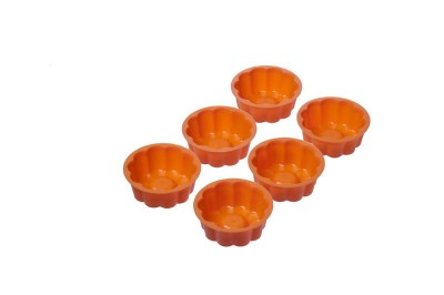 Soft Bowl - Softbowl Tekli Papatya Silikon Muffin Kalıbı (6lı paket)