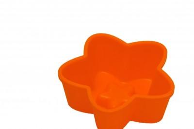 Softbowl Tekli Yıldız Silikon Muffin Kalıbı (6lı paket) - Thumbnail