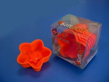 Softbowl Tekli Yıldız Silikon Muffin Kalıbı (6lı paket)
