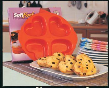Softbowl Yonca Silikon Kek Kalıbı