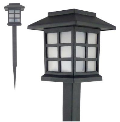 Diğer - Sokak Lambası Tasarımlı Solar Bahçe Lambası