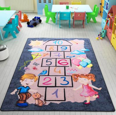 Confetti - Sokak Oyunu Sek Sek Çocuk ve Bebek Odası Halısı 133x190cm