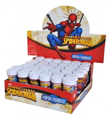 Diğer - Spiderman Baskılı Köpük Baloncuk Çıkaran Oyuncak