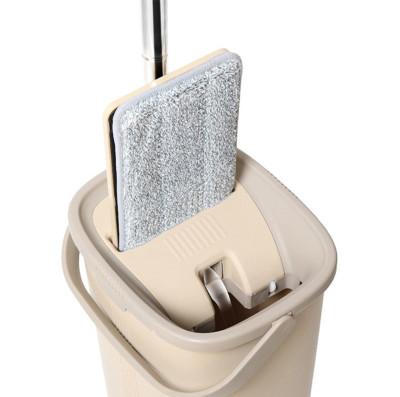 Spin Mop Tablet Çift Hazneli Mikrofiber Pratik Temizlik Seti - Thumbnail